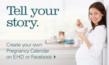 Tell your story. Create your own pregnancy calendar.