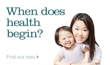 When does health begin? Find out now.
