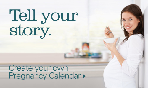 Create your own pregnancy calendar.