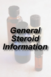 general steroid information